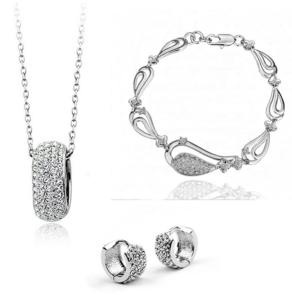 Richy-Glory Necklace Earring Jewelry Sets Fashion For Women