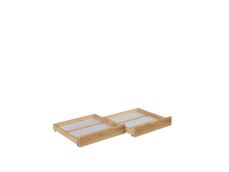 Lilokids Schubladen Set von 2 - für Etagenbett JELLE - Natur