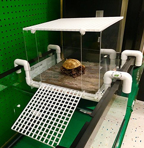 Large Turtle Tower Above Tank Acrylic Model Turtle Basking Platform Turtle Dock Basking Dock Turtle Tank Accessory by Turtle Tower