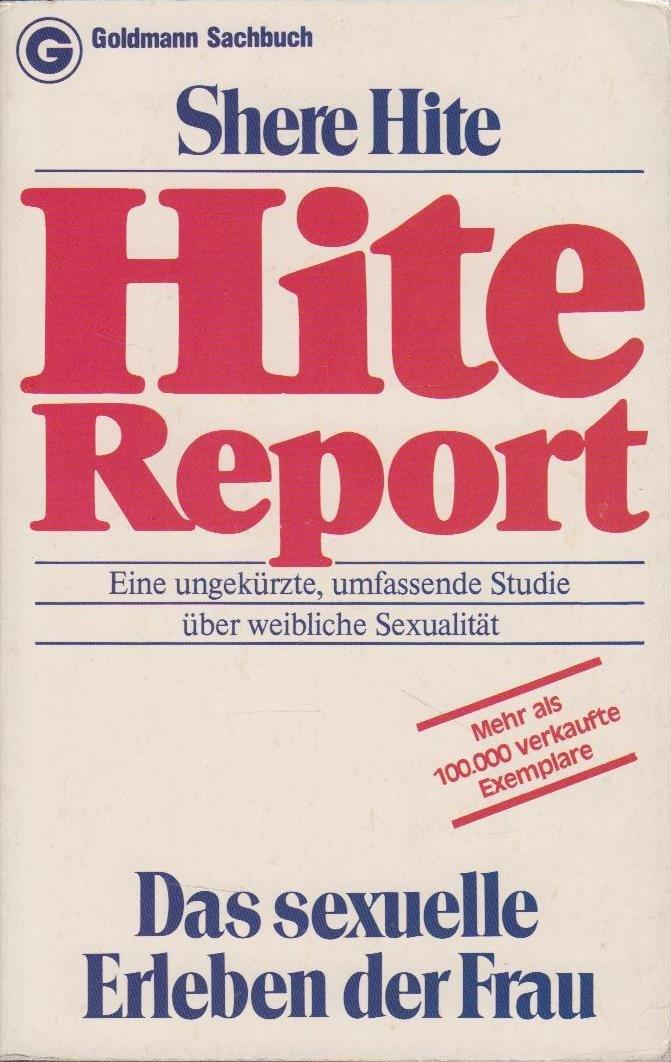 Hite-Report, Das sexuelle Erleben der Frau