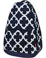 Geometric Themed Prints NGIL Tennis Racquet Holder Backpack