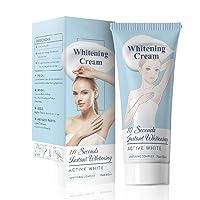 Whitening Cream Bleaching Cream, Body Cream for Armpit, Knees, Elbows (2 Pcs)