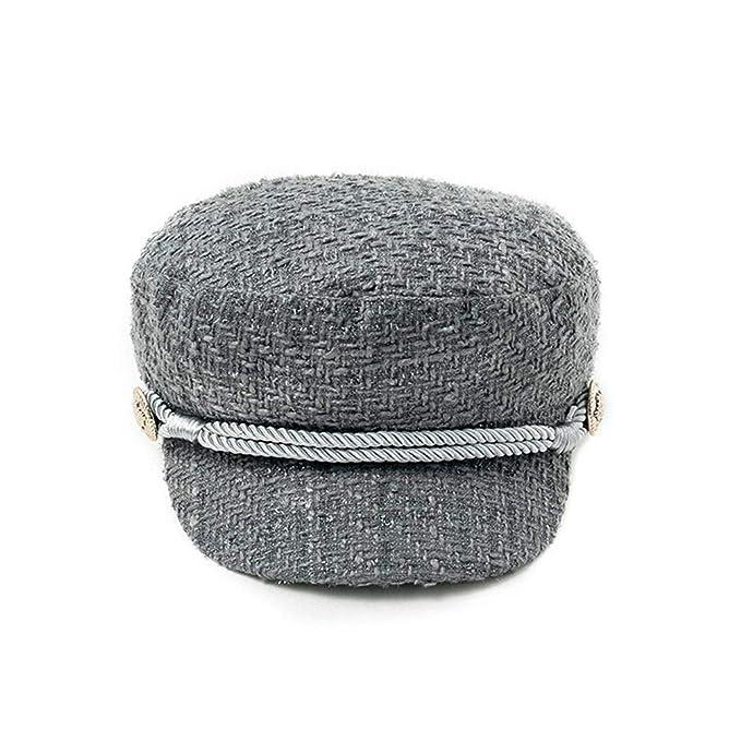 AWDWN Estampado en Caliente Visera Gorra Militar Mujer Sombrero ...