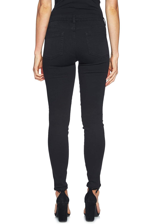 CeCe Womens Embellished Skinny Jeans