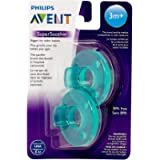 Philips Avent Soothie Pacifier 3m+, Green, 2 pack, SCF192/05
