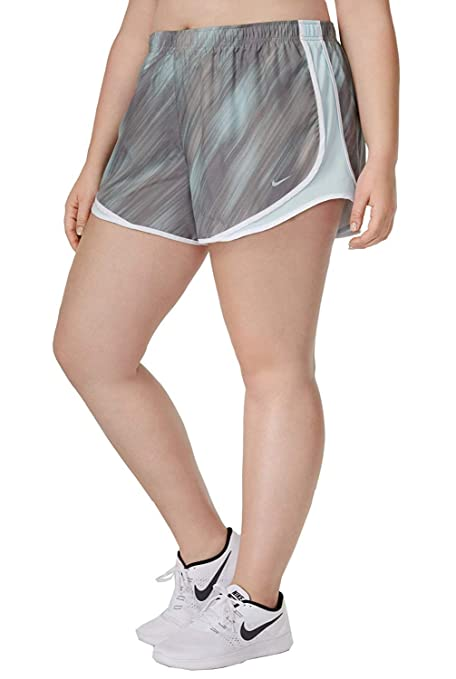 Nike Dry Tempo 3 Print Running Short Size 1X-3X Dust Glacier Blue  8edc4da3e7