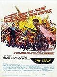 The Train Poster B 27x40 Burt Lancaster Paul Scofield Jeanne Moreau