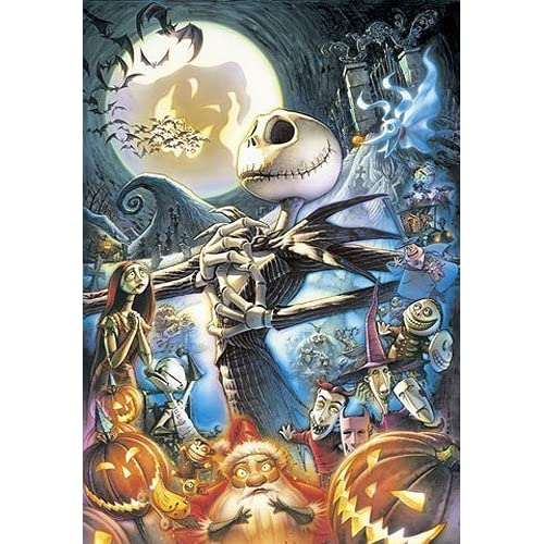 108 Piece Art of The Nightmare Before Christmas D-108-986 (japan import)