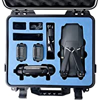 HOBBYTIGER DJI Mavic Pro Hard Case - Waterproof Rugged Compact Storage Case