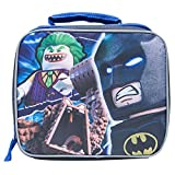 Lego Batman Rectangular Lunch Box - Lego Batman Boys' Rectangular Lunch Kit