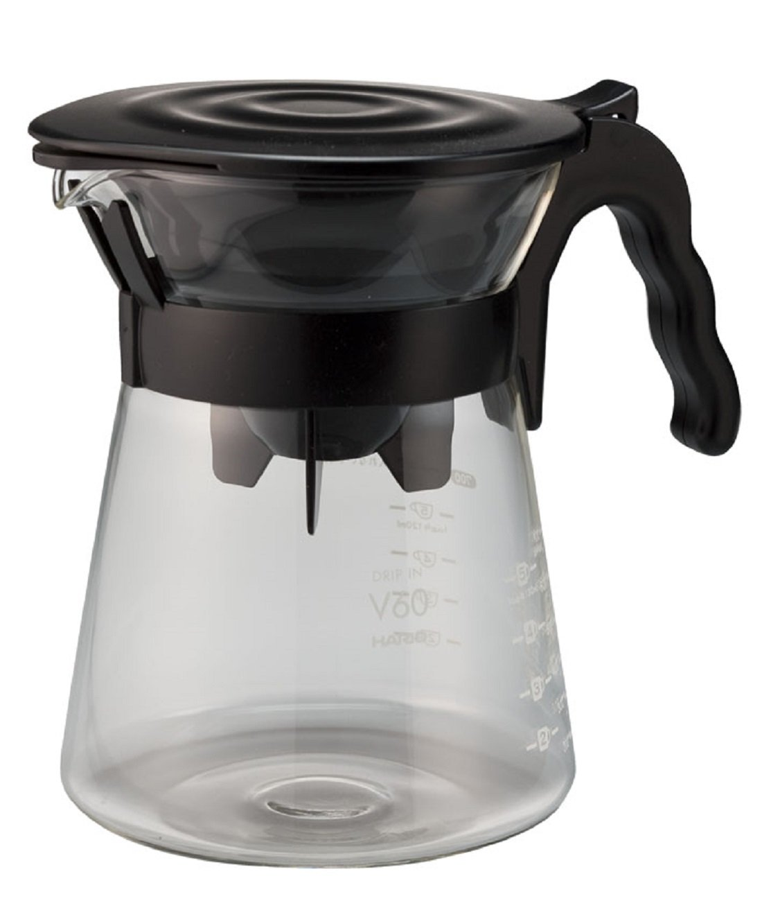 HARIO Coffee Dripper, Black VDI-02B