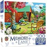 "MasterPieces PuzzleCompany Memory Lane Bridge of Hope Puzzle (300 Piece), Multicolored, 18""X24"""