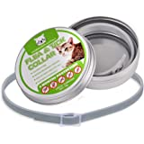 Natural Flea Collar for Cats and Kittens provides 8 months Protection from Ticks, Fleas and Lice. Our Collar is Safe and contains Natural Insect Repellant Essential Oils – is Hypoallergenic, Non-Toxic and Perfect for Sensitive Skins or Allergies.