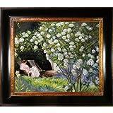 "overstockArt ""Rose Garden"" Framed Artwork by Peder Severin Kroyer"