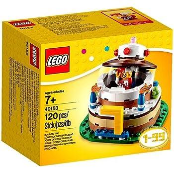 Amazoncom LEGO Birthday Decoration Cake Set  Toys  Games - Lego birthday cake pictures