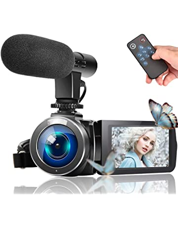 611eb7dff Video Camera Camcorder, Vlogging Camera Full HD 1080P 30FPS 3'' LCD Touch  Screen