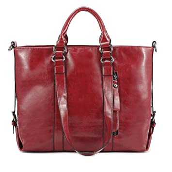 90709f71cb Image Unavailable. Image not available for. Color  Binmer(TM) Fashion  Leather Bags Tote Leather Handbags Women Messenger Bags Shoulder ...