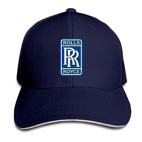 Amazon.com  GlyndaHoa Rolls Royce Sandwich Baseball Caps for Unisex  Adjustable Navy  Sports   Outdoors a24b402e037f