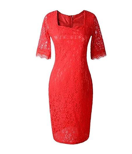 Lace Square Collar Plus Size Dresses Judy Dre Am 2017 New Design