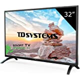 Televisore Led 40 Pollici Full HD Smart TD Systems K40DLM8FS. Risoluzione 1920 x 1080, 3x HDMI, VGA, 2x USB, Smart TV.