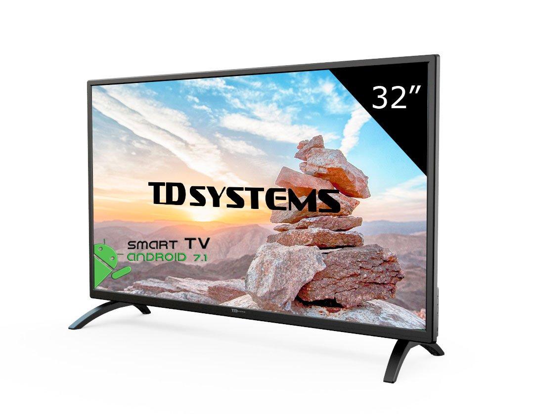 """Smart TV 32"""" TD Systems K32DLM8HS"""