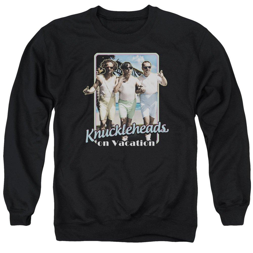 Three Stooges Mens Knucklesheads On Vacation Sweater