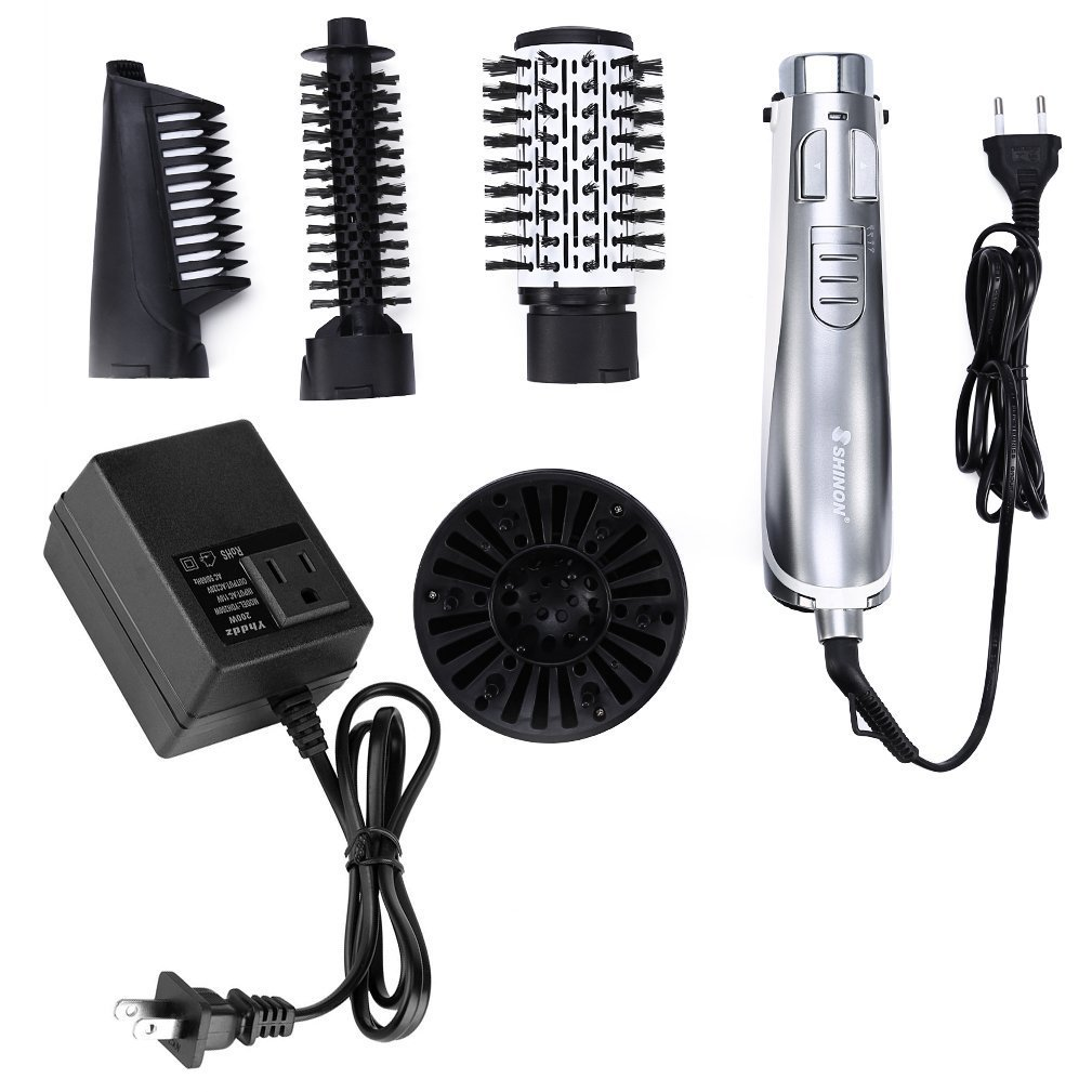 Amazon.com: 4 in 1 Hair Blow Dryer Diffuser, Hair Air Styler Salon Blower Hairdressing Styling Cover Attachments to Make Curling Wave Straight Hair Shine ...
