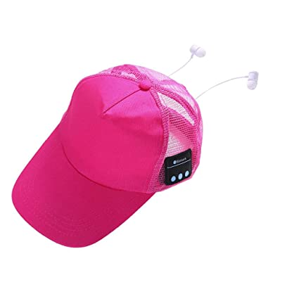 9d4cdda258c Wireless Bluetooth Baseball Cap Ankola Sport Wireless BT4.2 Music Hat Cap  Speaker Headset Mic