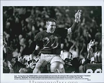 Vintage Photos 1988 Press Photo Dennis Quaid In The Gray Ghost