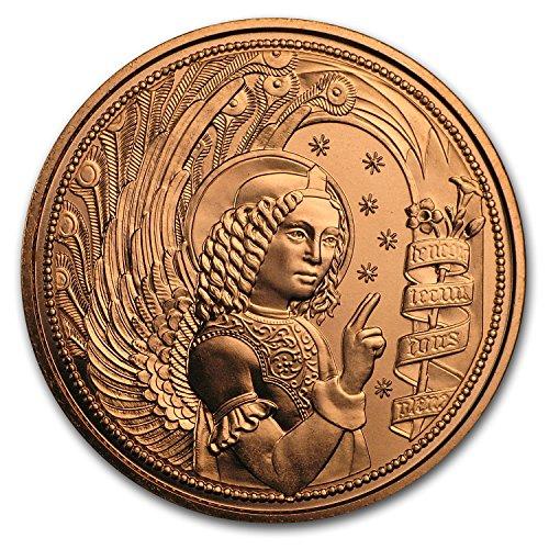 2017 AT Austria Copper €10 Guardian Angels (Gabriel) Piece Brilliant Uncirculated