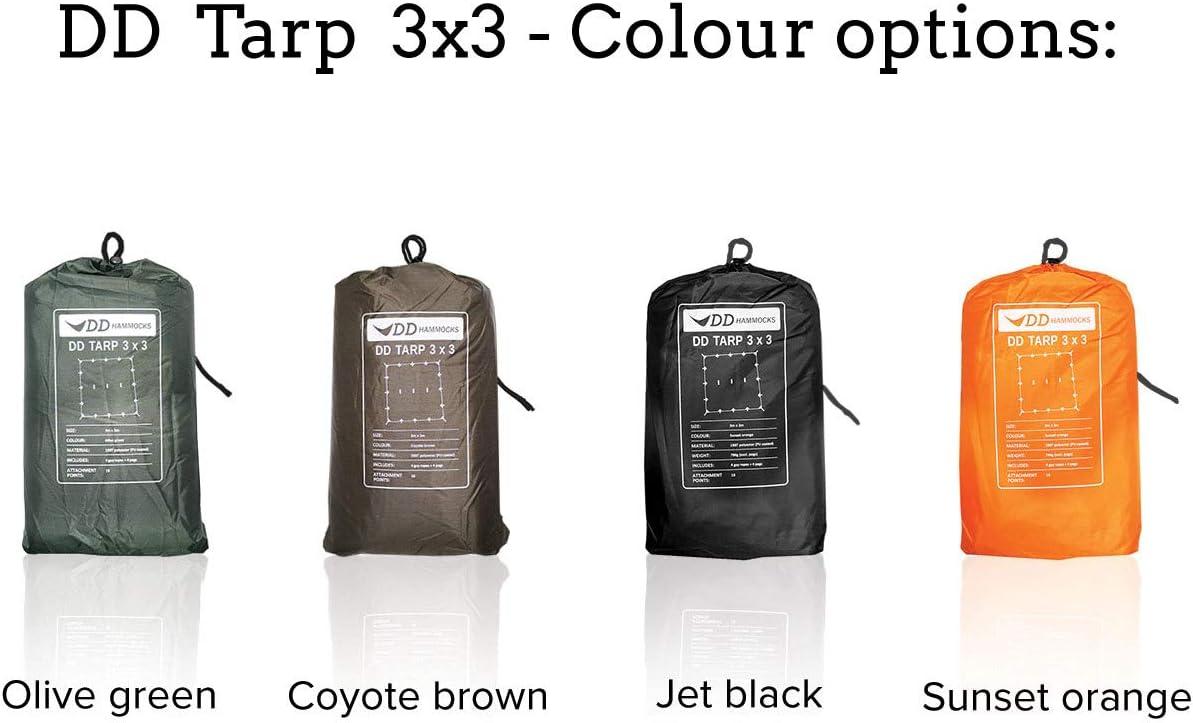 Versatile /& Tough Tarp//Basha DD Tarp 3m x 3m Lightweight