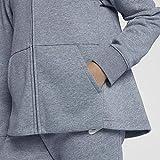 NIKE Sportswear Girls' Full-Zip Hoodie, Ashen