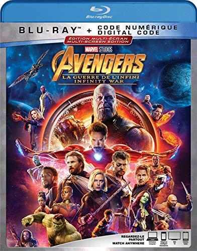 AVENGERS: INFINITY WAR [Blu-ray] (Bilingual)