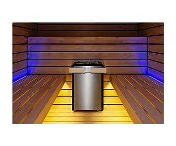 Sentiotec Saunaofen Concept R Mini 4,5 KW für Badezimmer Sauna inkl ...