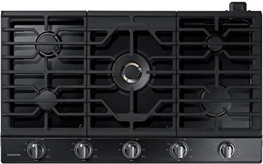 Convection Samsung NE59J7850WG 30 Black Stainless Steel Electric Smoothtop Double Oven Range