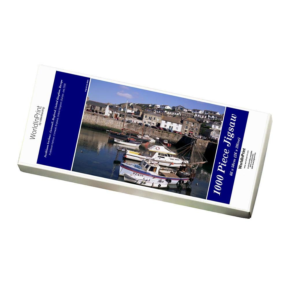 Robert Harding 1000 Piece Puzzle of Porthleven harbour, Cornwall, England, United Kingdom, Europe (1146587)