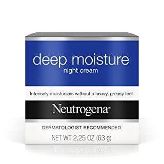 Neutrogena Deep Moisture Night Cream, Pack of 9