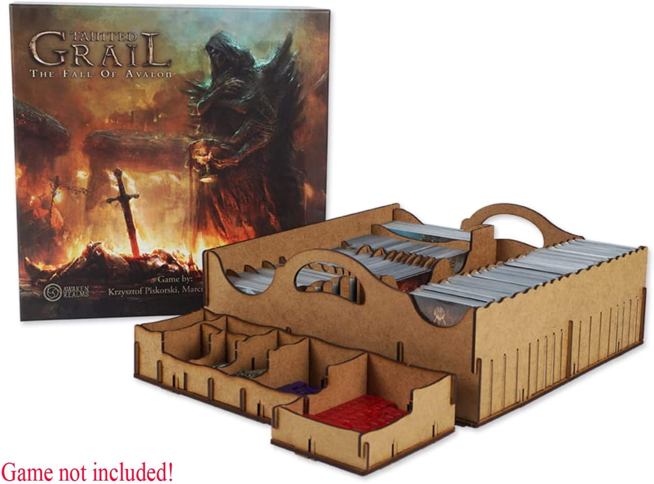 docsmagic.de Organizer Insert for Tainted Grail Box - Encarte: Amazon.es: Juguetes y juegos