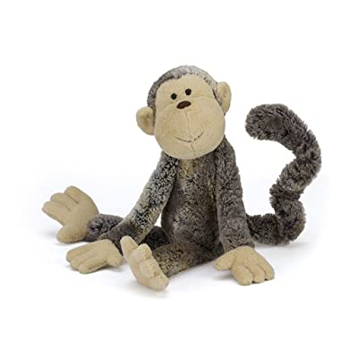 Jellycat Mattie Monkey Stuffed Animal, Medium, 17 inches: Toys & Games
