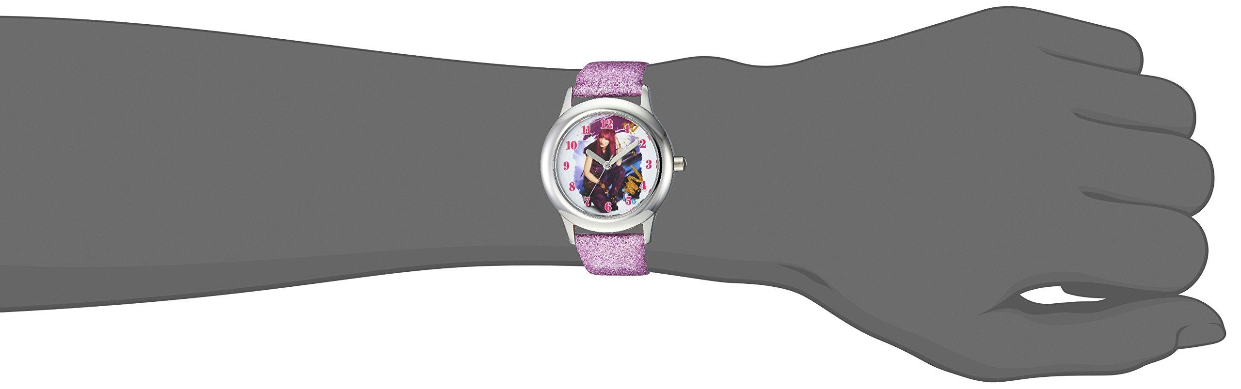 DISNEY Girl's Descendants 2' Quartz Stainless Steel Casual Watch, Color:Purple (Model: WDS000247) by Disney (Image #2)