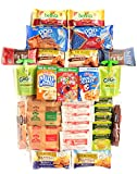 This is a great snack pack to have on hand for those busy mornings! The assortment of name brand snacks includes: 3 (1 oz) Kellogs cereal (assorted), 2 packages Pop Tarts (assorted flavors), 4 packages Belvita breakfast biscuits (asst flavors), 2 Non...