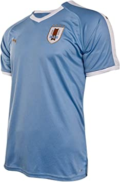 PUMA Uruguay Primera Equipación 2019-2020, Camiseta, Silver Lake Blue, Talla L: Amazon.es: Deportes y aire libre