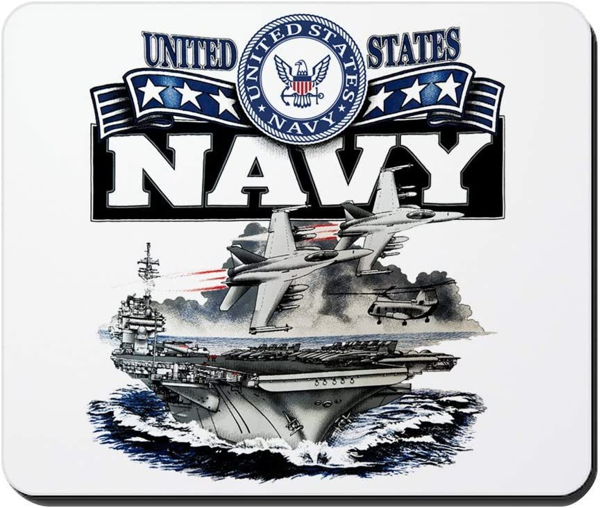 Mousepad Mouse Pad US Navy Aircraft Carrier and Jets