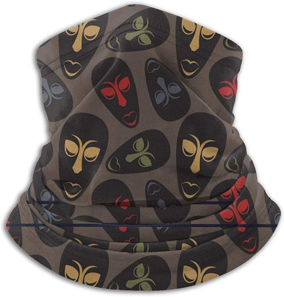 # 513 Cuello Polaina Bufanda Bandana Mascarilla Máscaras africanas Protección UV para Motociclismo Ciclismo Correr Diademas cálidas
