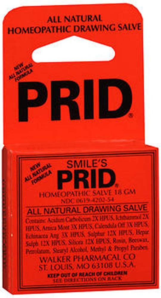 Smile's Prid Homeopathic Drawing Salve 18 g (Pack of 2)