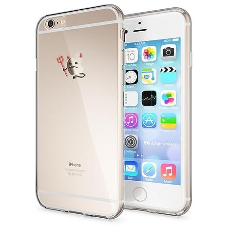 4c4c14fa918 NALIA Funda Carcasa Compatible con iPhone 6 6S, Motivo Design Movil  Protectora Ultra-Fina