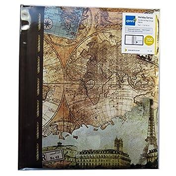 Kenro Holiday Theme Memo Photo Album Old World Map Amazoncouk - Old world map