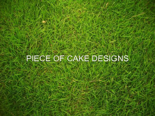 Edible Grass (1/4 Sheet ~ Real Yard Grass Birthday ~ Edible Cake/Cupcake Topper!!!)