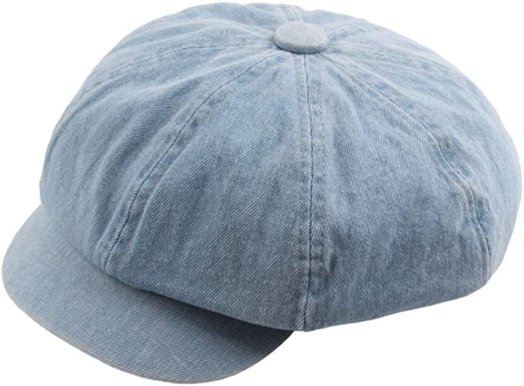 Denim Cotton Octagonal Hats...