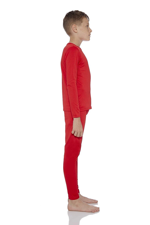 Rocky Boys Ultra Soft Fleece Lined Thermal Underwear 2 PC Set Long John Top and Bottom